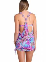 Пляжное платье Luli Fama Sol Brillante с кружевом на спине