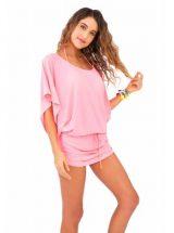 Пляжное платье Luli Fama розовое