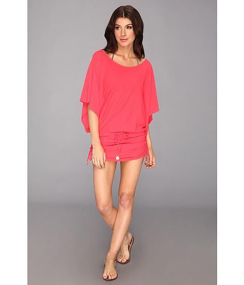 Пляжное платье Luli Fama ярко-красное