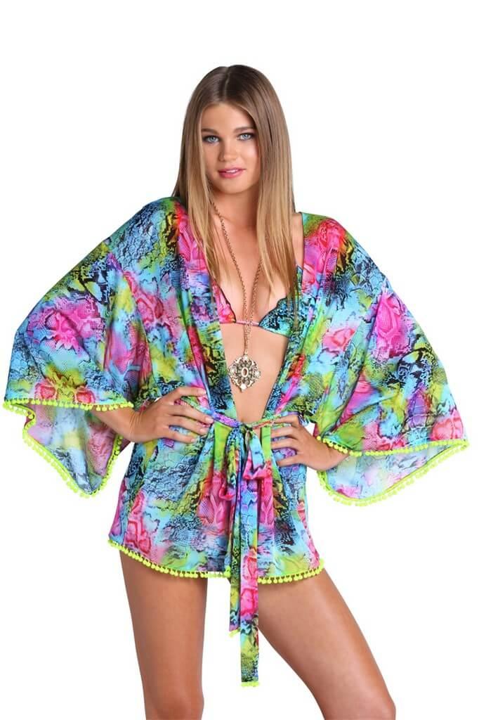 Kimono s bubnami Luli Fama Sea Salt Angel