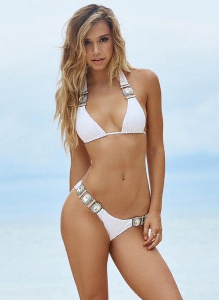Kupalnik Beach Bunny Material Girl belij