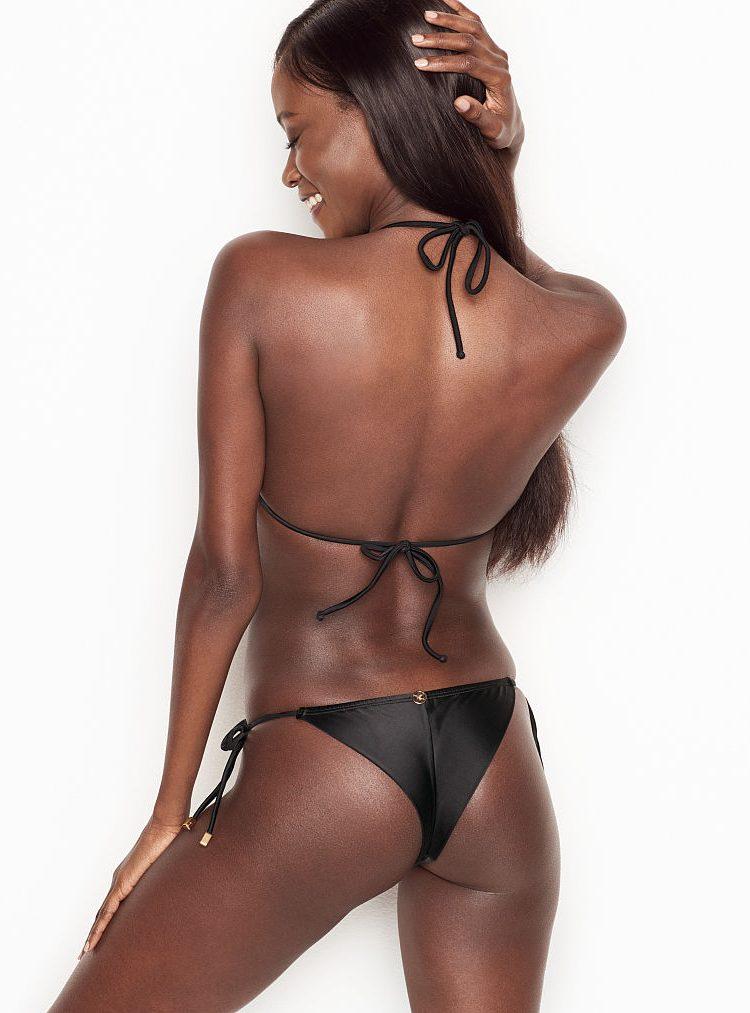 Kupalnik Vix dlia Victoria's Secret bezhevo-chernij1